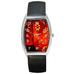 Star Light Christmas Romantic Hell Barrel Style Metal Watch