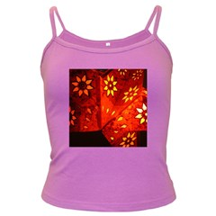 Star Light Christmas Romantic Hell Dark Spaghetti Tank