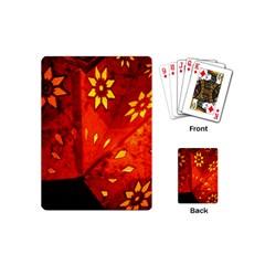 Star Light Christmas Romantic Hell Playing Cards (mini)