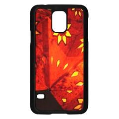 Star Light Christmas Romantic Hell Samsung Galaxy S5 Case (black)