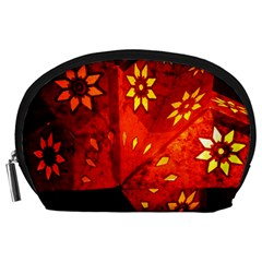 Star Light Christmas Romantic Hell Accessory Pouches (large)
