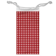 Christmas Paper Wrapping Paper Jewelry Bag