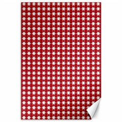 Christmas Paper Wrapping Paper Canvas 12  X 18