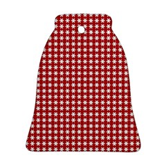 Christmas Paper Wrapping Paper Bell Ornament (two Sides)