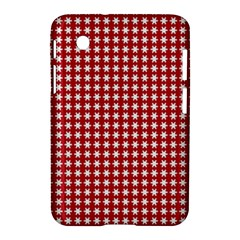 Christmas Paper Wrapping Paper Samsung Galaxy Tab 2 (7 ) P3100 Hardshell Case