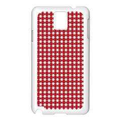 Christmas Paper Wrapping Paper Samsung Galaxy Note 3 N9005 Case (white)