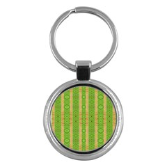 Seamless Tileable Pattern Design Key Chains (round)