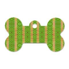 Seamless Tileable Pattern Design Dog Tag Bone (two Sides)