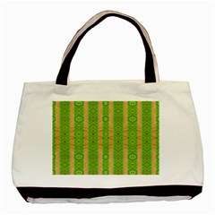 Seamless Tileable Pattern Design Basic Tote Bag (two Sides)