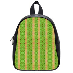 Seamless Tileable Pattern Design School Bag (small)