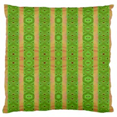 Seamless Tileable Pattern Design Large Cushion Case (two Sides)