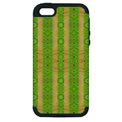 Seamless Tileable Pattern Design Apple Iphone 5 Hardshell Case (pc+silicone)