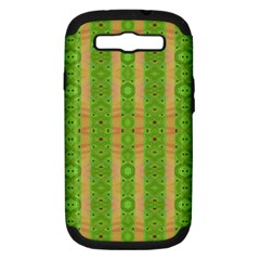 Seamless Tileable Pattern Design Samsung Galaxy S Iii Hardshell Case (pc+silicone)