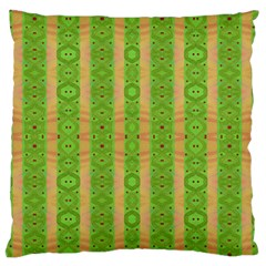 Seamless Tileable Pattern Design Large Flano Cushion Case (one Side)