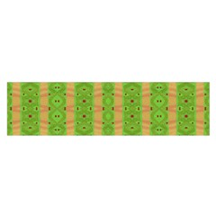 Seamless Tileable Pattern Design Satin Scarf (oblong)
