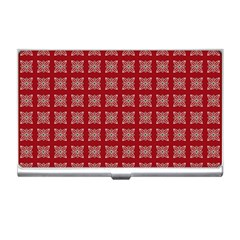 Christmas Paper Wrapping Paper Business Card Holders