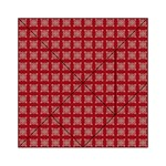 Christmas Paper Wrapping Paper Acrylic Tangram Puzzle (6  x 6 ) Front