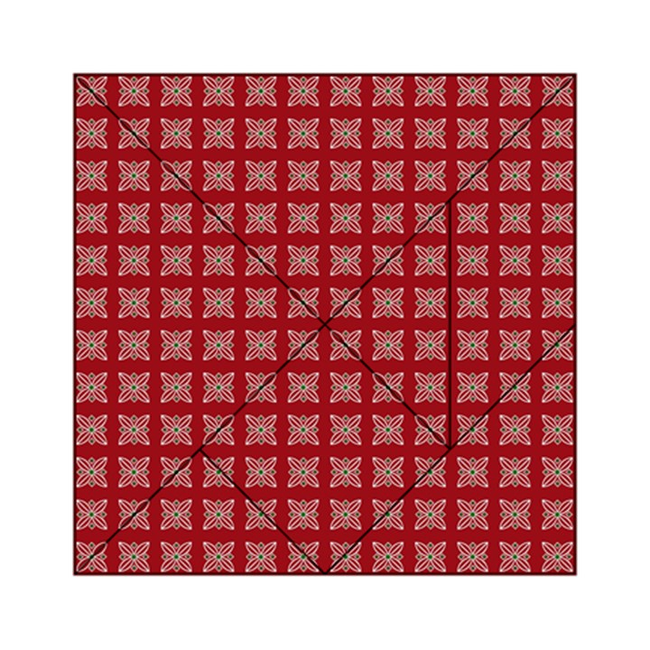 Christmas Paper Wrapping Paper Acrylic Tangram Puzzle (6  x 6 )