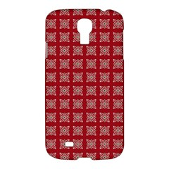 Christmas Paper Wrapping Paper Samsung Galaxy S4 I9500/i9505 Hardshell Case