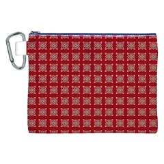 Christmas Paper Wrapping Paper Canvas Cosmetic Bag (xxl)