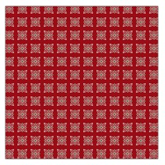 Christmas Paper Wrapping Paper Large Satin Scarf (square)