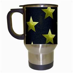 Stars Backgrounds Patterns Shapes Travel Mugs (white)