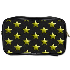 Stars Backgrounds Patterns Shapes Toiletries Bags 2 Side