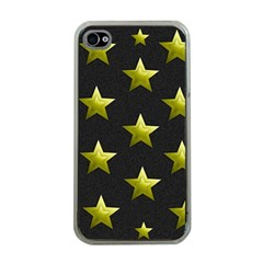 Stars Backgrounds Patterns Shapes Apple Iphone 4 Case (clear)