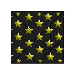 Stars Backgrounds Patterns Shapes Acrylic Tangram Puzzle (4  X 4 )