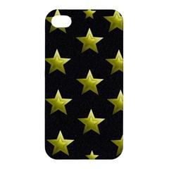 Stars Backgrounds Patterns Shapes Apple Iphone 4/4s Premium Hardshell Case