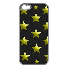 Stars Backgrounds Patterns Shapes Apple Iphone 5 Case (silver)