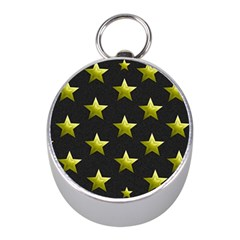 Stars Backgrounds Patterns Shapes Mini Silver Compasses