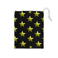 Stars Backgrounds Patterns Shapes Drawstring Pouches (medium)