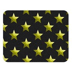 Stars Backgrounds Patterns Shapes Double Sided Flano Blanket (large)