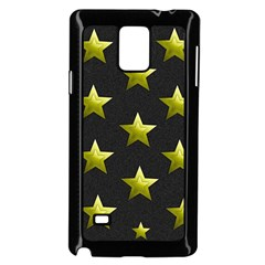 Stars Backgrounds Patterns Shapes Samsung Galaxy Note 4 Case (black)