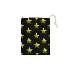 Stars Backgrounds Patterns Shapes Drawstring Pouches (xs)