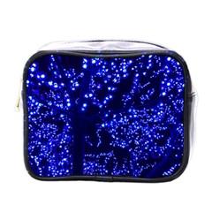 Lights Blue Tree Night Glow Mini Toiletries Bags