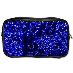 Lights Blue Tree Night Glow Toiletries Bags 2 Side