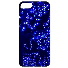 Lights Blue Tree Night Glow Apple Iphone 5 Classic Hardshell Case