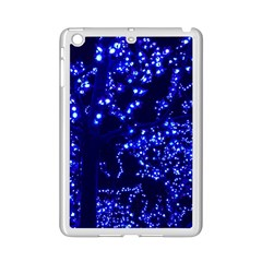 Lights Blue Tree Night Glow Ipad Mini 2 Enamel Coated Cases