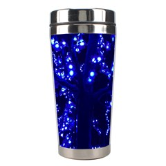 Lights Blue Tree Night Glow Stainless Steel Travel Tumblers