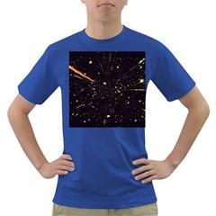 Star Sky Graphic Night Background Dark T Shirt