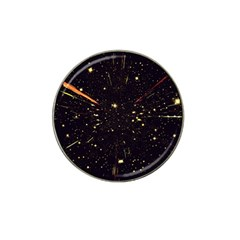 Star Sky Graphic Night Background Hat Clip Ball Marker (4 Pack)