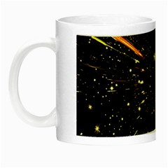 Star Sky Graphic Night Background Night Luminous Mugs