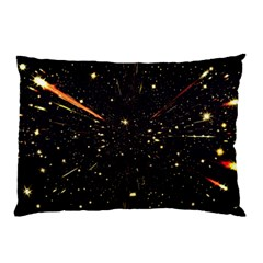 Star Sky Graphic Night Background Pillow Case