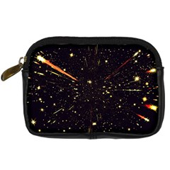 Star Sky Graphic Night Background Digital Camera Cases