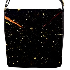 Star Sky Graphic Night Background Flap Messenger Bag (s)