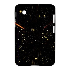 Star Sky Graphic Night Background Samsung Galaxy Tab 2 (7 ) P3100 Hardshell Case