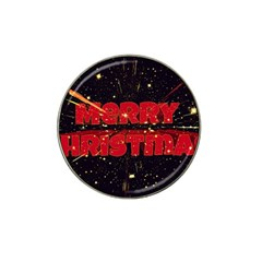 Star Sky Graphic Night Background Hat Clip Ball Marker (10 Pack)