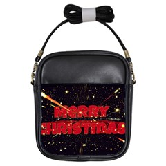 Star Sky Graphic Night Background Girls Sling Bags